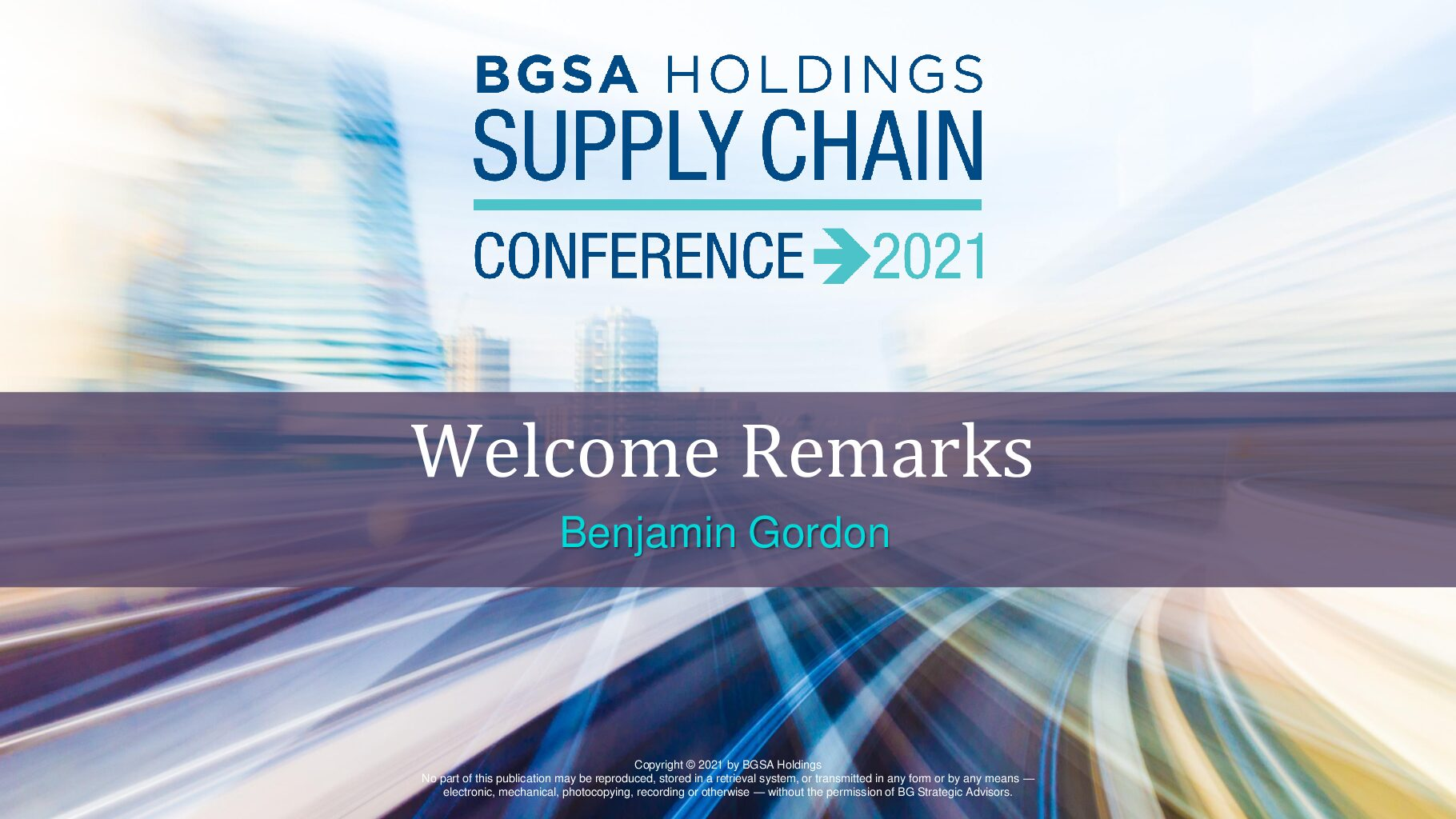 The 2021 Supply Chain Outlook: What CEOs Are Saying at the BGSA Conference