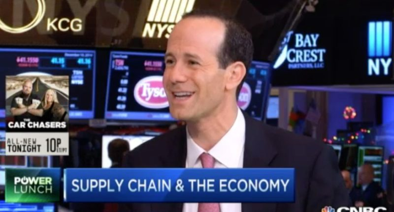 Benjamin Gordon Interviewed on CNBC on Logistics