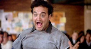 John Belushi in Animal House starts a food fight - just like Amazon did with Whole Foods. By Benjamin Gordon, Cambridge Capital